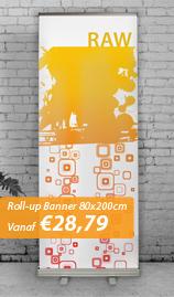Roll-up Banner Basic 80x200cm