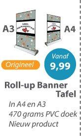 Roll-up Banner Tafel